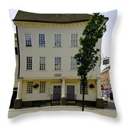 Samuel Johnson Birthplace Museum Throw Pillow