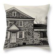 Samuel Livezey's Store Throw Pillow