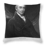 Samuel Romilly (1757-1818) Throw Pillow