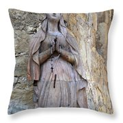 San Carlos Borromeo De Carmelo Mission 6 Throw Pillow