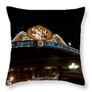 San Diego Gate Throw Pillow