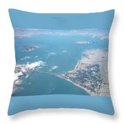 San Francisco 2001 Throw Pillow
