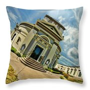 San Francisco Colvbarivm Throw Pillow