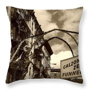 San Gennaro Throw Pillow