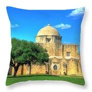 San Jose Mission 3 Throw Pillow