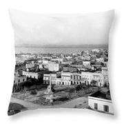 San Juan - Puerto Rico - C 1900 Throw Pillow