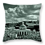 San Juan Cemetey 2 Throw Pillow