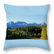 San Juans Colorado Throw Pillow