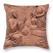 San Sebastian Door Art Throw Pillow