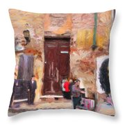 San Telmo Souvenir Throw Pillow