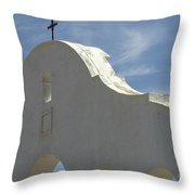 San Xavier Del Bac Archway Throw Pillow