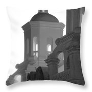 San Xavier Del Bac Mission Tucson Throw Pillow