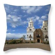 San Xavier Del Bac Tucson Throw Pillow