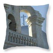 San Xavier Del Bac Vignette Throw Pillow