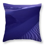 Sand Dunes. These Dunes Form When Solid Throw Pillow