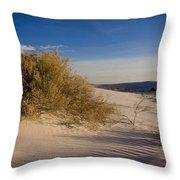 Sand Shrub 1 Throw Pillow