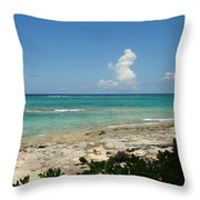 Sandals Cay Throw Pillow