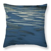 Sandbars Make A Pattern In A Body Throw Pillow