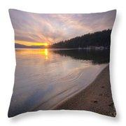 Sanders Sunset Throw Pillow