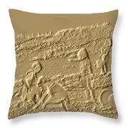 Sandland Throw Pillow