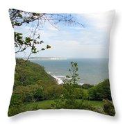 Sandown On Isle Of Wight Throw Pillow