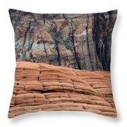 Sandstone Ballet Throw Pillow