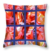 Sandstone Sunsongs Rockin Red Throw Pillow