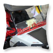 Santa Calling You Throw Pillow