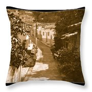 Santa Fe No I  Throw Pillow by Axko Color de paraiso