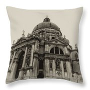 Santa Maria Della Salute Venice Throw Pillow