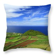 Sao Miguel - Azores Islands Throw Pillow by Gaspar Avila