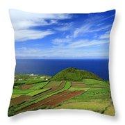 Sao Miguel - Azores Islands Throw Pillow