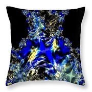Sapphires Throw Pillow