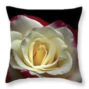 Sarah's Rose Throw Pillow