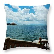 Sarasota Bay In Florida Throw Pillow