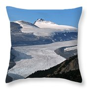 Saskatchewan Glacier Banff National Park Throw Pillow