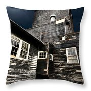 Saskatchewan Grain Elevator Throw Pillow