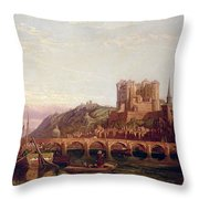 Saumur -  By The Loire Valley  Throw Pillow