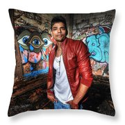Saurabh4 Throw Pillow