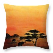 Savana Throw Pillow