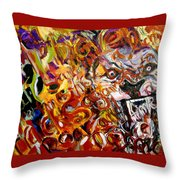 Savannah Lions Throw Pillow