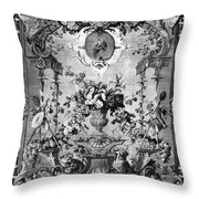Savonnerie Panel C1800 Throw Pillow by Granger