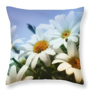 Say It With Flowers Throw Pillow