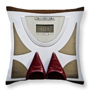 Scale Throw Pillow