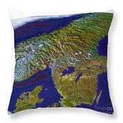 Scandinavia Throw Pillow