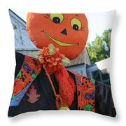 Scarecrow Candy Throw Pillow