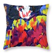 Scary Clown Throw Pillow