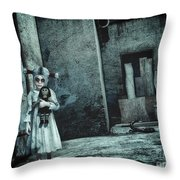 Scary Place Throw Pillow