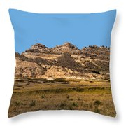 Scenic Western Nebraska Throw Pillow