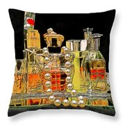 Scents Of A Woman Throw Pillow